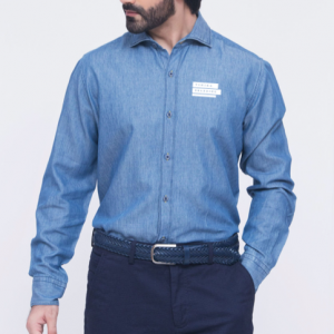 Corporate Merchandise: Logo printing on Denim Shirts