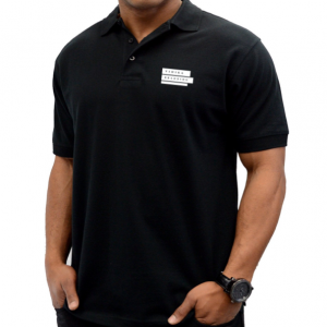Corporate Merchandise: Logo printing on cotton Polo t-shirts
