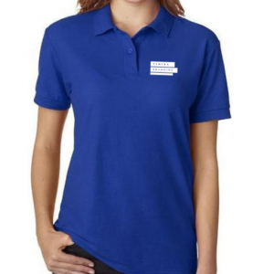 Corporate merchandise: Polo t-shirt for women with logo printing