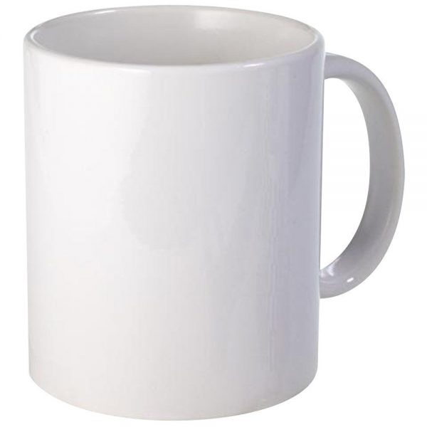 Corporate merchandise: Coffee Mugs can be printed with brand elements like logo and tagline