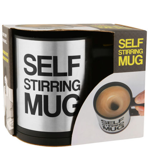 Corporate Merchandise: Unique gifting ideas | Self stirring beverage mug