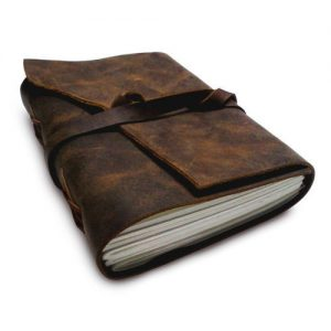 Corporate Merchandise: Logo printing on leather diary