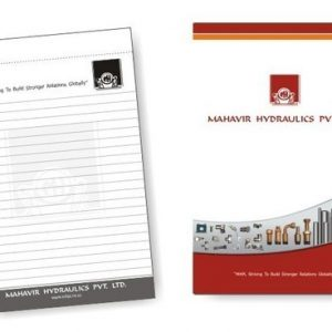 Corporate Merchandise: Logo printing on plain notepads