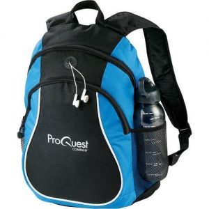 Corporate Merchandise: Logo Printing on promotional gifts and backpacks