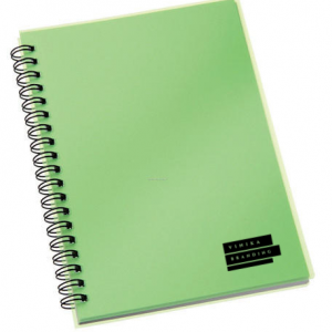 Corporate Merchandise: Logo printing on spiral bound notebooks
