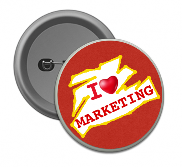 Corporate Merchandise: Logo Printing on promotional gifts and button badges
