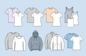 types of t shirts